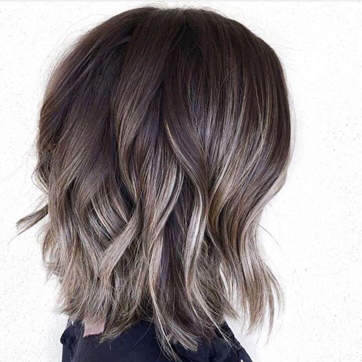 Балаяж на короткие волосы картинки