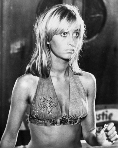 1974 hair  Susan George - Dirty Mary Crazy Larry