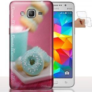 Etui téléphone Samsung Galaxy Grand Prime Donuts | Housse Silicone. #Coquetelephone #GranPrime #Samsung #Donuts