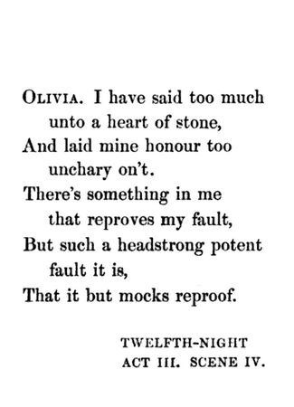 twelfth night by willaim shakespeare Plot summary of and introduction to william shakespeare's play twelfth night, with links to online texts, digital images, and other resources.