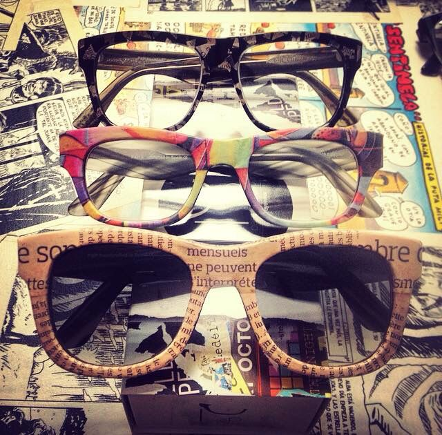 Paper & Paper Eyewear #Handcrafted #Unique #fashion #eyewear #cool #Mido #Silmo www.paperandpapereyewear.com