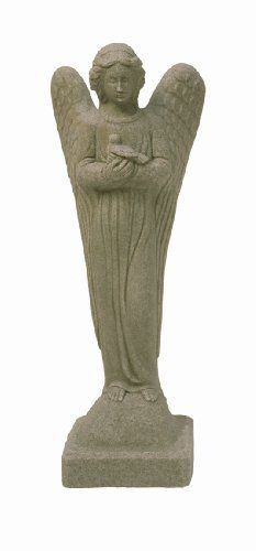 Emsco Group 2260 Poly Angel Statue Sand 29-Inch by Emsco Group. Save 18 Off!. $49.00
