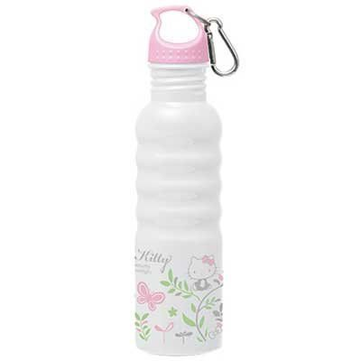 Hello Kitty stainless bottle 750ml (27ounce) SSBN7 Outdoor sport drink bottle (Japan Import). 750ml(27ounce ) 【Size】 80×H147mm. Do not use for hot drink.
