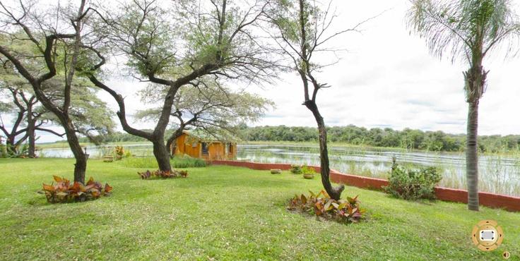Amazing 360° Virtual Tour showing Hakusembe River Lodge in Namibia