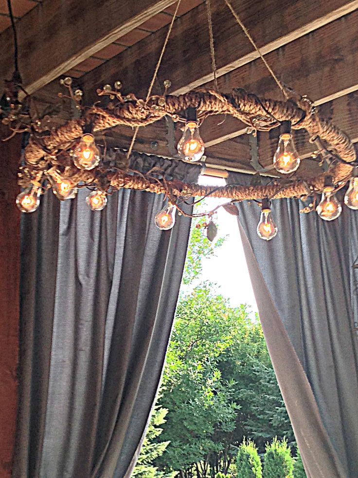 Die besten 25 hula hoop kronleuchter ideen auf pinterest - Outdoor kronleuchter ...