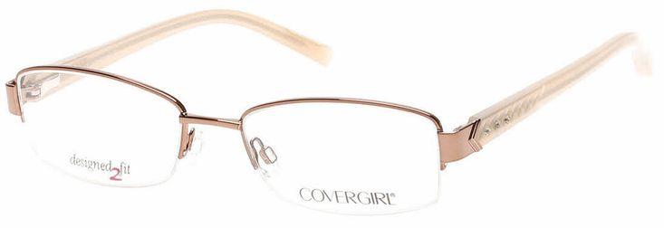 Cover Girl CG0443 Eyeglasses | 50% Off Lens Promotion + 50% OFF Eyeglass Lenses - Ends Soon! | Get prescription lenses with authentic fashion-forward frames