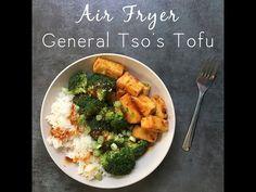 Air Fryer General Tso's Tofu with the EZ Tofu Press - YouTube
