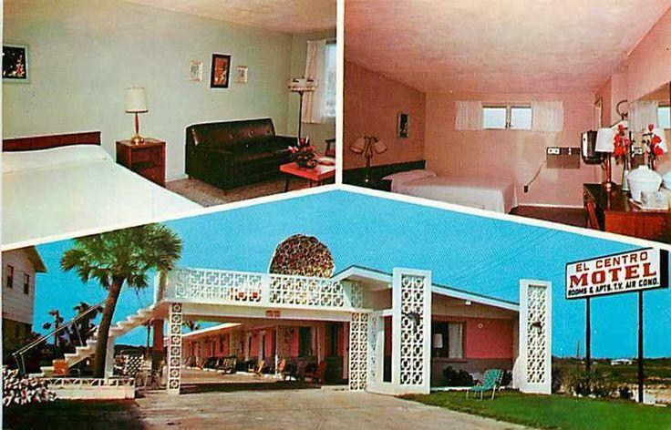 FL, Panama City, Florida, El Centro Motel, Multi-View, Dexter Press No 99292B