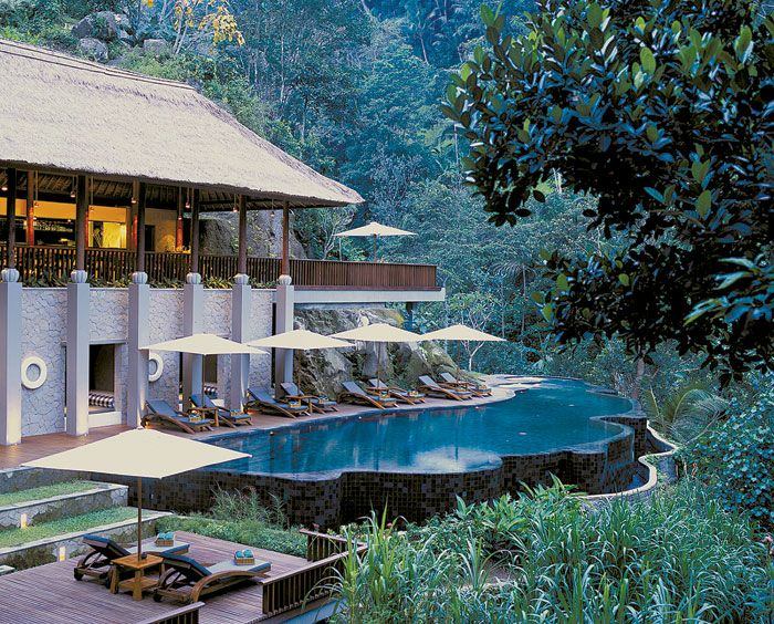 Indonesia's most exotic island of Bali, the Maya Ubud Resort.