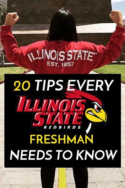 20 Tips Every Illinois State University Freshman Needs to Know