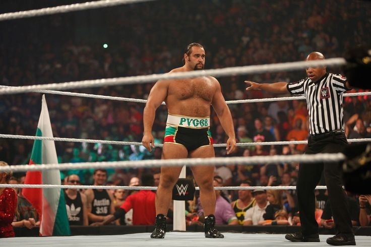WWE Alexander Rusev HD Background