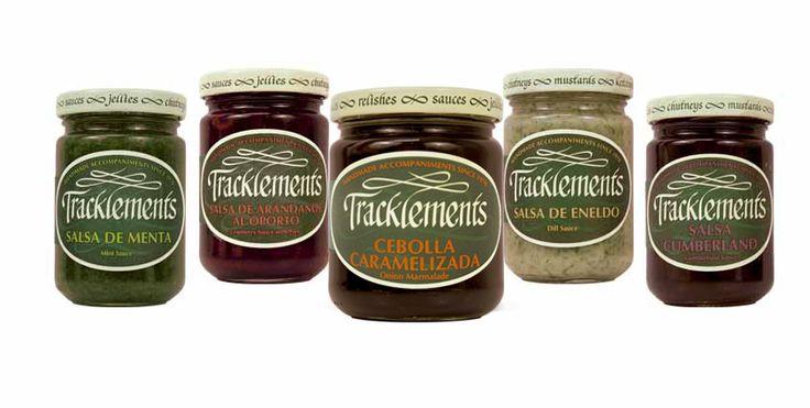 Tracklements: #salsa de árandanos al oporto, cumberland, eneldo, menta y cebolla caramelizada