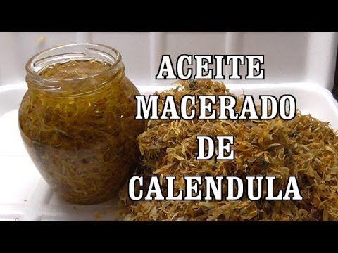 DIY ACEITE DE CALENDULA, ESPECIAL PARA PIELES DELICADAS