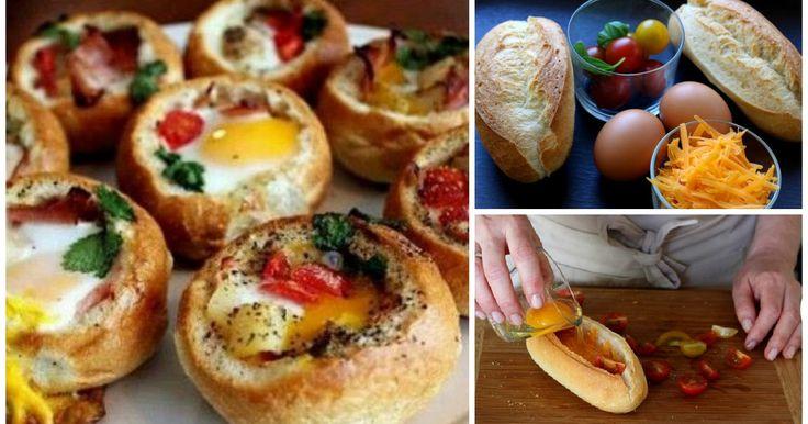Receita passo a passo: como fazer um ovo cocotte num pãozinho (egg-boat)?