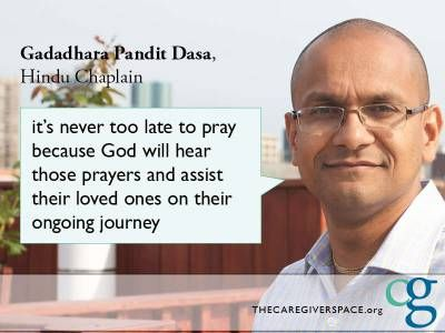 Faith guides many of our community members through major life transitions. Learn how different faith communities come together to support their members through grief and loss. Pandit speaks on the importance of #prayer