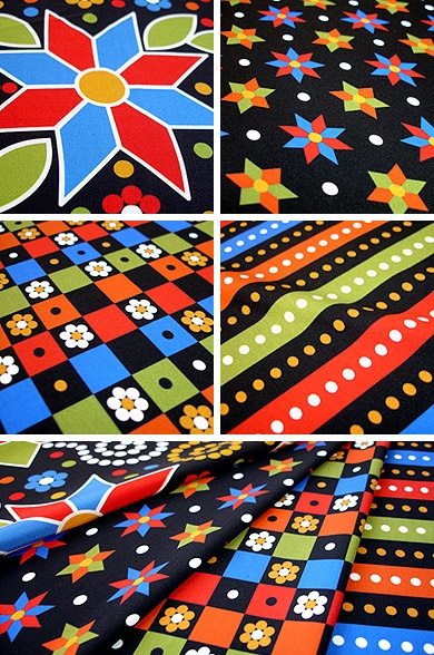 maracatu collection | textiles | pattern + coordinates | © wagner campelo