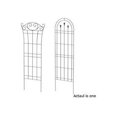 Shop Garden Treasures Assorted Black Garden Trellis At Loweu0027s Canada. Find  Our Selection Of Trellises At The Lowest Price Guaranteed With Price Match  + Off.