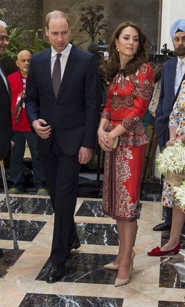Kate et William au Taj Hotel