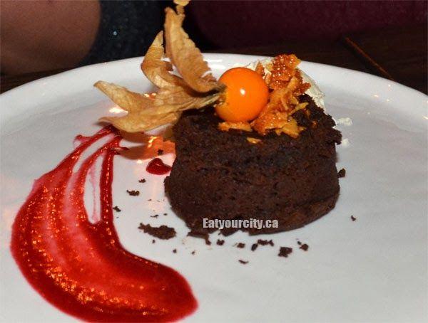 The River House Warm Chocolate cake
