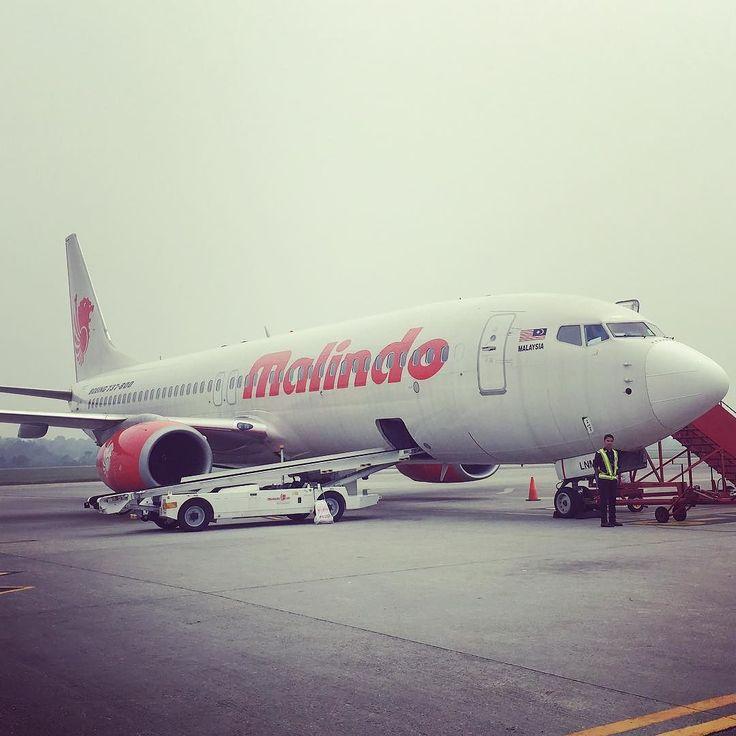 Finally leaving #langkawi after a 24 hour delay due to #smokehaze #malindoair #OD2201 #mrandmrschong2015