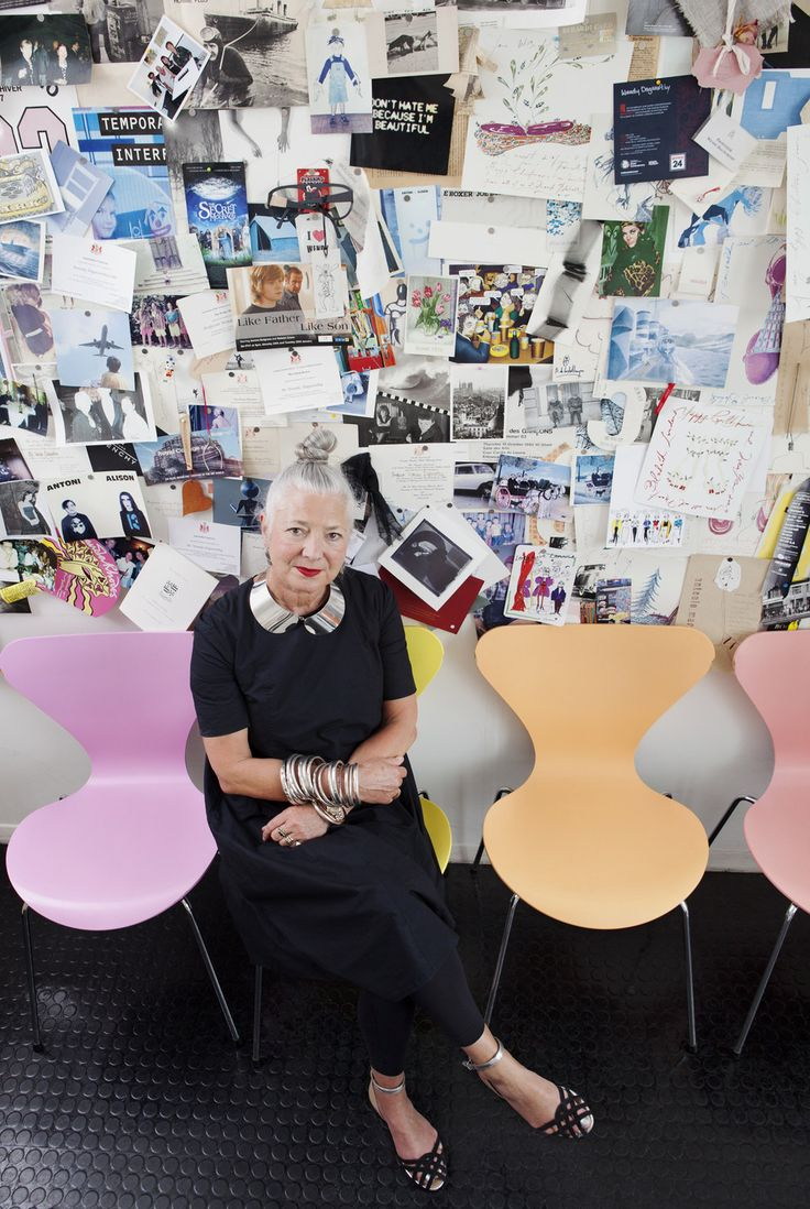 Wendy Dagworthy OBE – former dean of the School of Material at the Royal College of Art