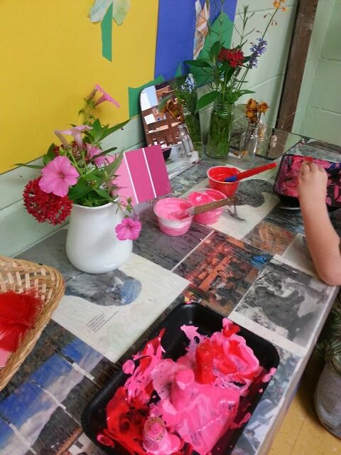 "Exploring shades of colour - from 'Imagine Learning Center' ("",)"