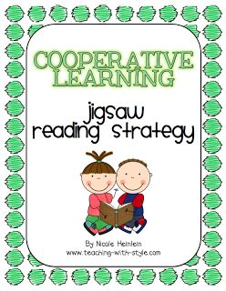 SIOP Freebie - Jigsaw Cooperative Learning Strategy