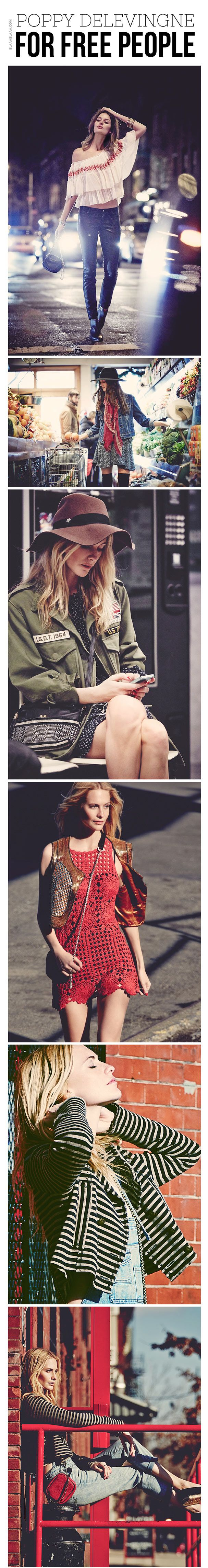 Poppy Delevingne for Free People