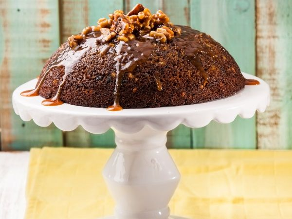 From the YOU kitchen: Sticky toffee and nut pudding