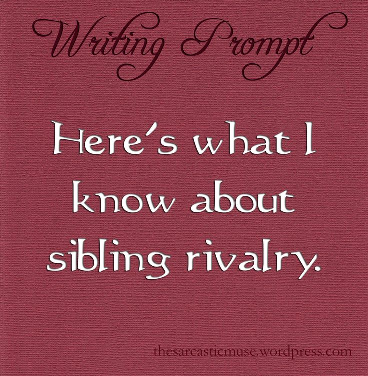 sibling rivalry in genesis essay Sibling rivalry  10/20/2013 sunday school lesson genesis/bereshith  hebrews 11  beer-sheba   documents similar to sibling rivalryoctober202013 deeperstudy3.