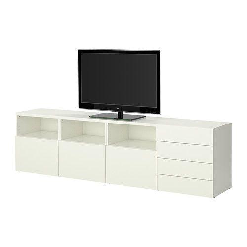 ikea best tv storage combination adjustable feet for stability on uneven floors - Meuble Tv Ikea En Pin