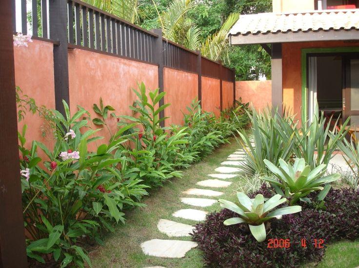 Pousada Villa Camboa-jardim interno