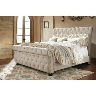 Shop for Signature Design by Ashley Willenburg Linen California King Bed. Get free shipping at Overstock.com - Your Online Furniture Outlet Store! Get 5% in rewards with Club O! - 19785938