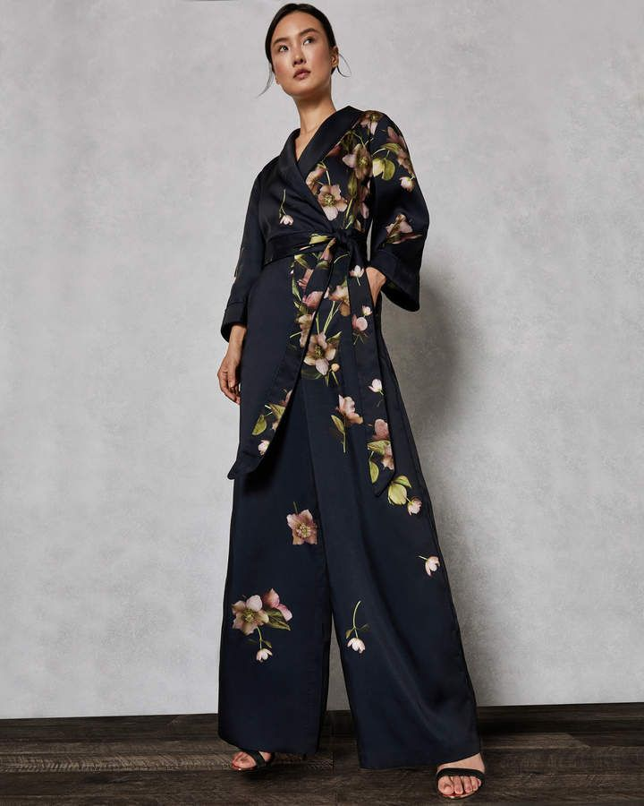 10f91a1ab2 Ted Baker KENSIDY Arboretum pyjama jumpsuit | Products in 2019 | Ted ...