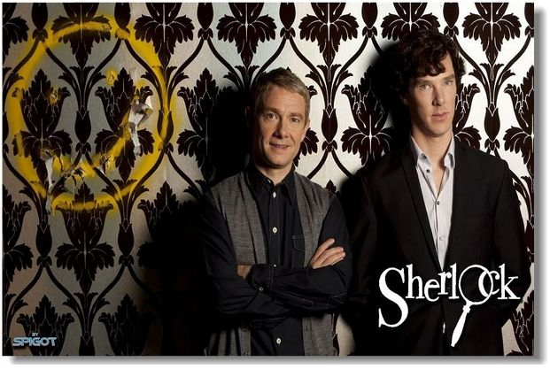 Купить шерлок холмс, sherlock - постер, плакат, афиша №18 по низкой цене