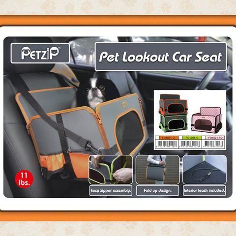 Pet Zip Car Seat Carrier
