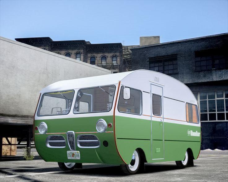 SAAB Caravan 92HK Motorhome - cant say it's my dream car, but it's definitely uniquely Swedish!