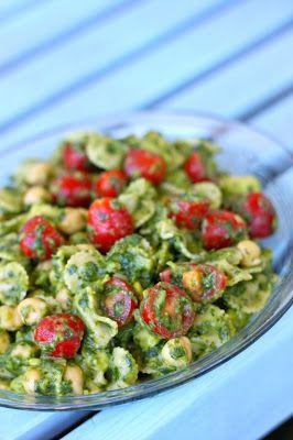 Lemon Cilantro Avocado Pasta Salad - Recipes, Dinner Ideas, Healthy Recipes & Food Guides