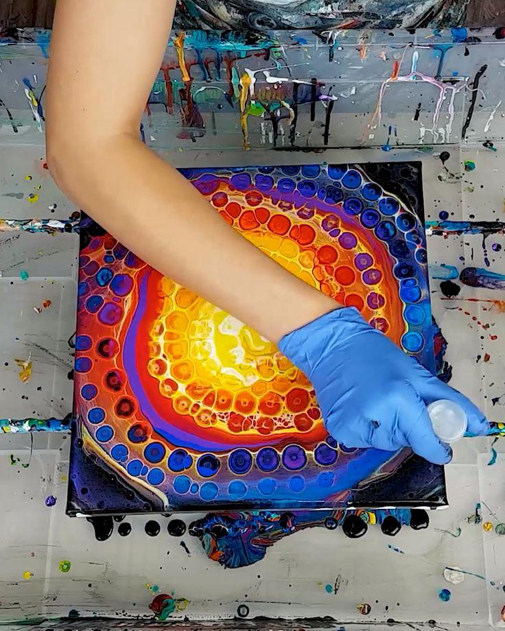 Chameleon Cells Swirl