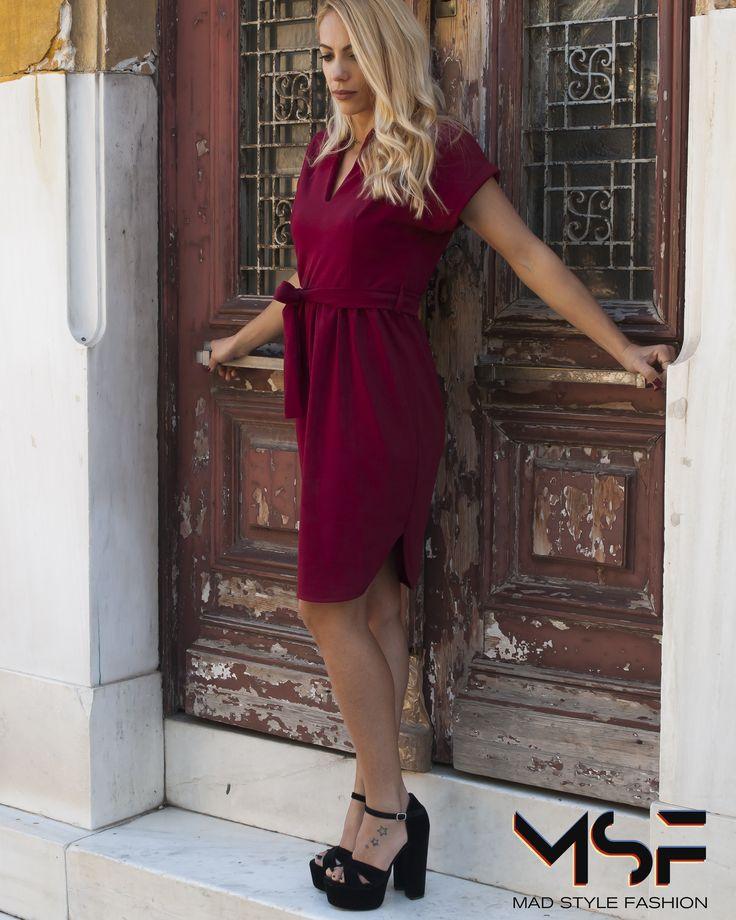 •The colour of passion• Βρες το Φόρεμα (τιμή 25.50€) εδώ: http://curs.io/hotU ☎Τηλεφωνικές Παραγγελίες: 2104965329