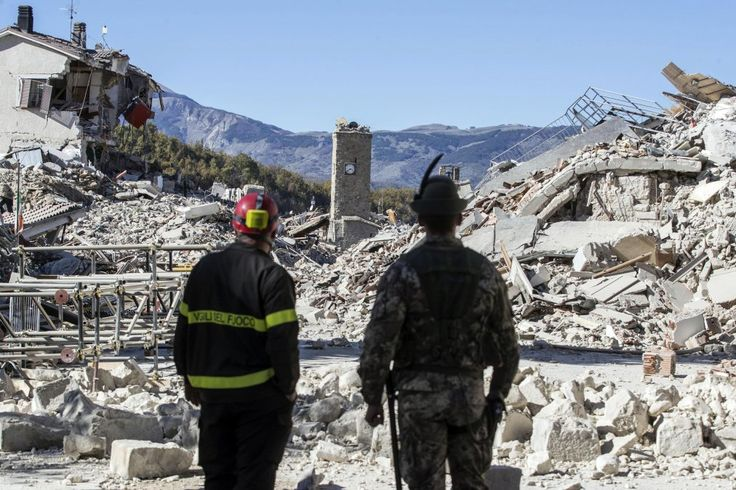 10/30/2016 ITALY: Italy Hit by Strongest Earthquake in 35 Years