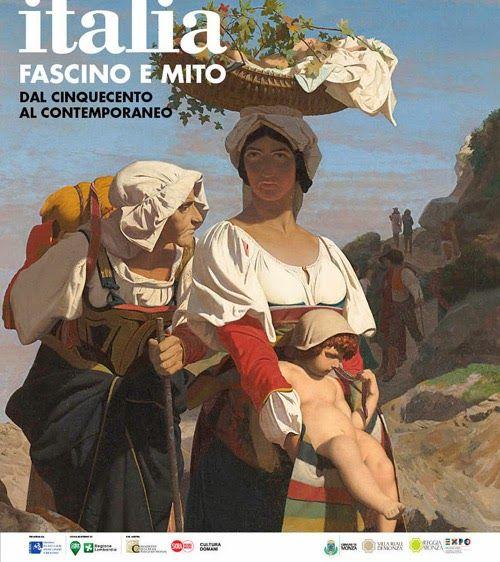 Dal Seicento a l'Ottocento meta privilegiata di aristocratici e uomini di cultura europei Grande mostra Italia: Fascino e mito