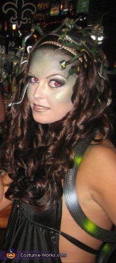 Medusa - 2013 Halloween Costume Contest    #Halloween #halloweencostumes