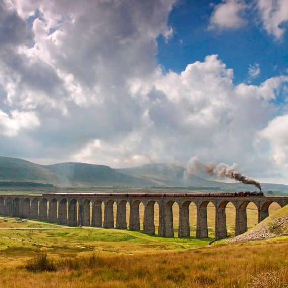 The Viaduct at Ribblehead, North Yorkshire