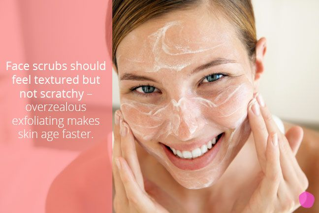 "Gently exfoliating your oily skin two to three times per week keeps skin cells from becoming ""sticky,"" meaning clumped together and clogging pores. Salicylic acid cleansers are a derm favorite for dissolving oil and are gentle enough to use every day."
