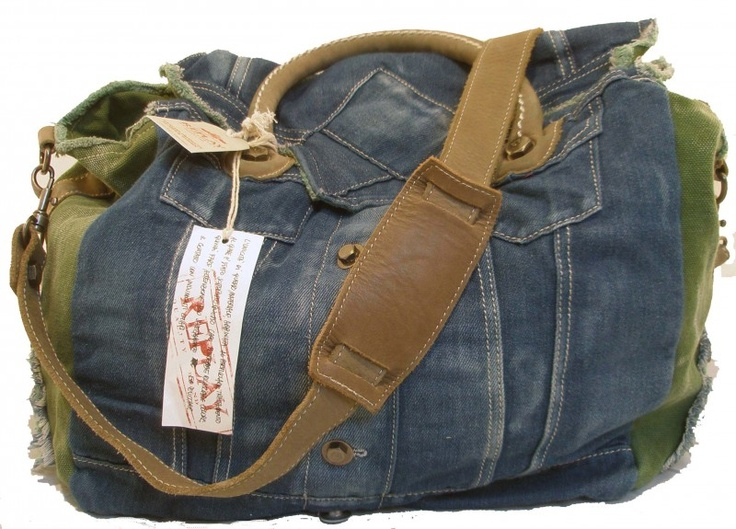 Stoere maar vrouwelijke Replay bag, now on sale! www.vandemeisjes.nl