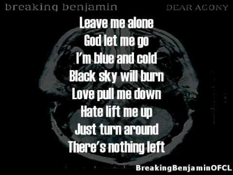 """Dear Agony from the 4th album """" dear agony"""" by, breaking benjamin 2009 new album. that it will be in stores on september 29th - tuesday .    New full original song - dear agony - breaking benjamin  visit http://www.youtube.com/breakingbenjaminofcl and listen to the other new songs from the 4th album like :-  fade away - hopeless - crawl - i will..."""