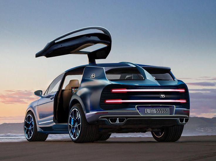 Bugatti könnte ein Chiron-basiertes Hyper-SUV erstellen