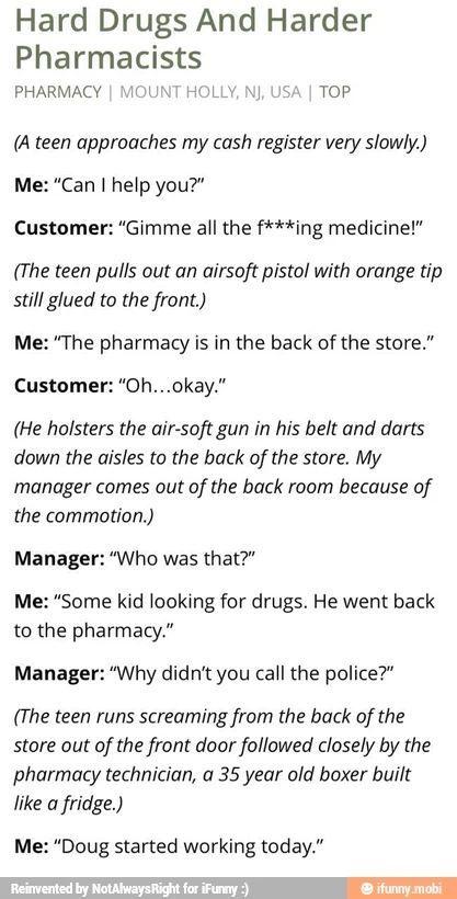 Hard Drugs and Harder Pharmacists – #drugs #hard #…