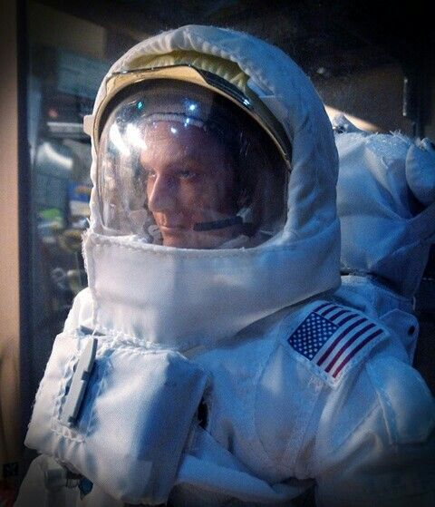 Excercise for moon landing. 1/6 astronaut dragon figure.